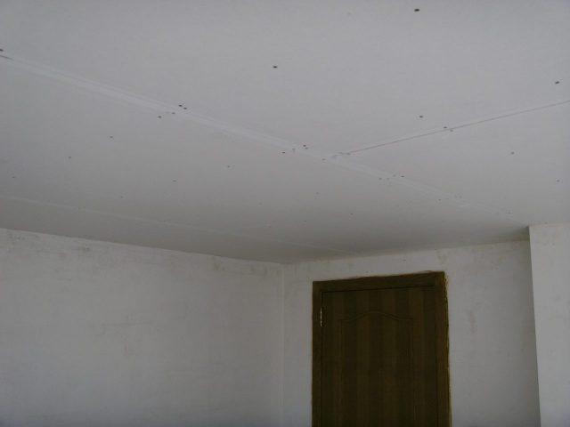 Plafond opbouw