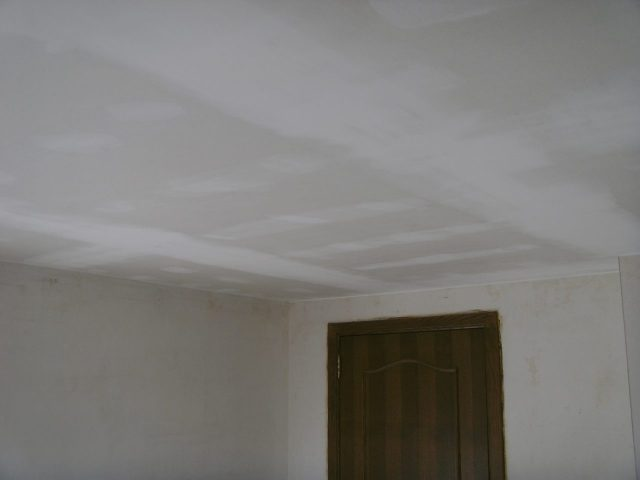 Plafond opbouw Gierle